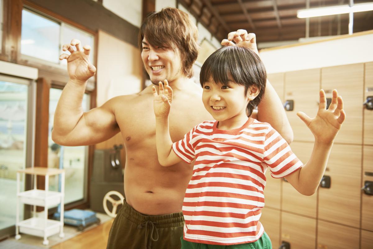 息子の祥太を演じたのは、寺田心くん。©2018「パパはわるものチャンピオン」製作委員会