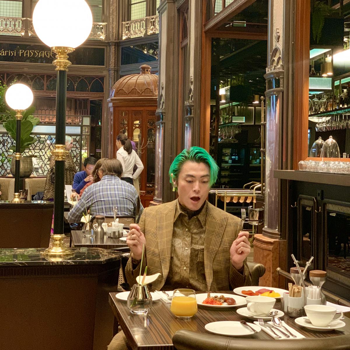 Párisi Udvar Hotelでの朝食は、ハンガリースタイルをピック!