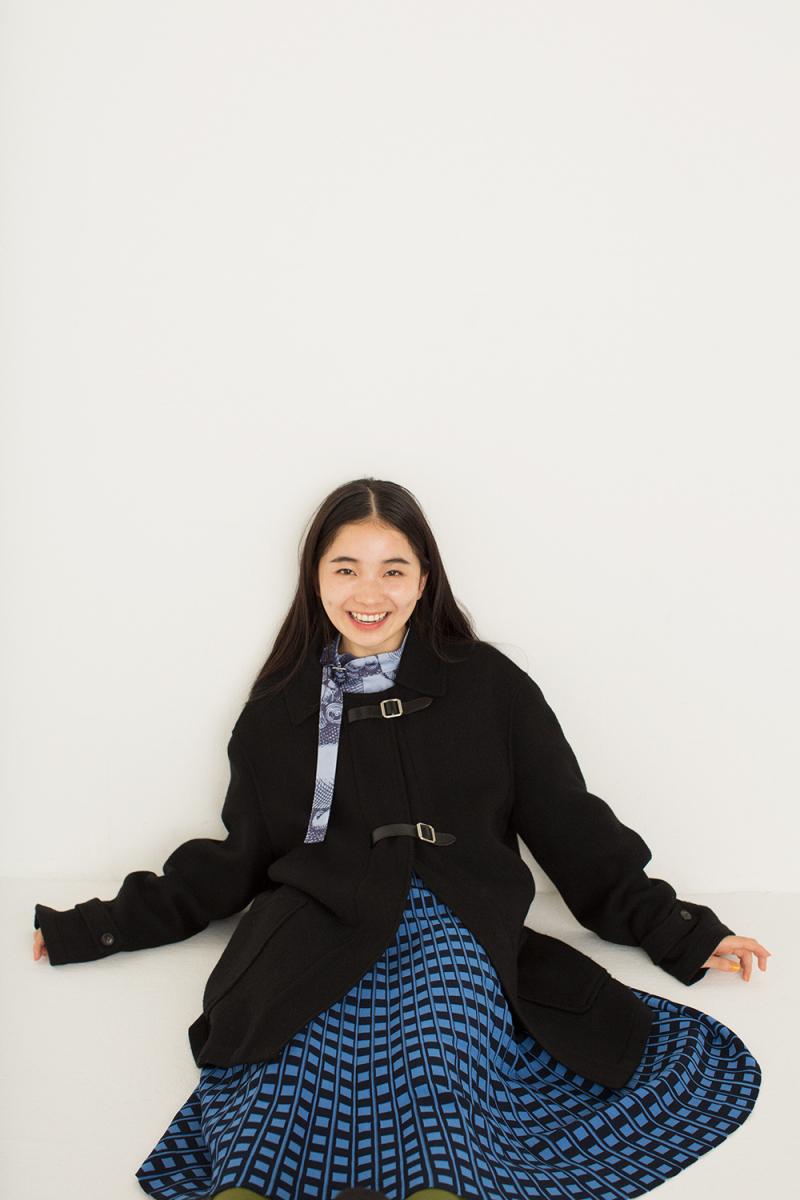女優・福地桃子さん。2019年4月より開始するNHK連続テレビ小説「なつぞら」では主人公の親友役で出演されます!