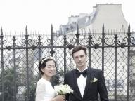 """""""フランスらしさ""""にこだわった気取らないパリ婚"""