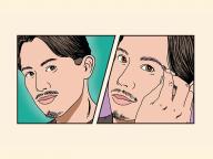 小田切ヒロの解体新書 第8回  ― ほんのり紫眉が、洒落てます ―