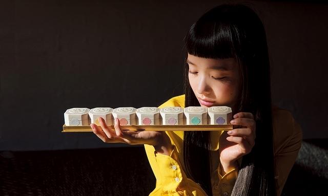 一人ひとりの「個の美」を引き出す資生堂のメーキャップの原点ともいえる製品。当時のパッケージを忠実に再現。「資生堂 七色粉白粉 百周年記念複製版」(※2017年1 月に限定発売されたもの)