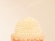 ケーキに奏でるアートなメッセージ
