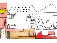 マルニ初のカフェが大阪にオープン!フラワーや雑貨も販売