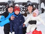 ウィリアム王子一家、初めてのスキーホリデーにお出かけ!