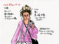 [vol.11] 我が道を行くヘレナ・ボナム=カーター、50歳。そのファッションセンスも独自路線を貫いて、ロンドン名物の域