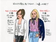 ケイト・ベッキンセイルとクロエ・セヴィニー。 2人を見比べて、ファッションが語るものを実感