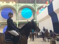 馬と騎手の グランパレで、ソー・エルメスの週末