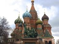 ロシアより、愛をこめて。 強行!モスクワ3日間の旅
