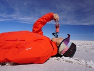ウユニ塩湖にひとりっぷ® してきました③~トリック撮影を制するものは塩湖を制す編~