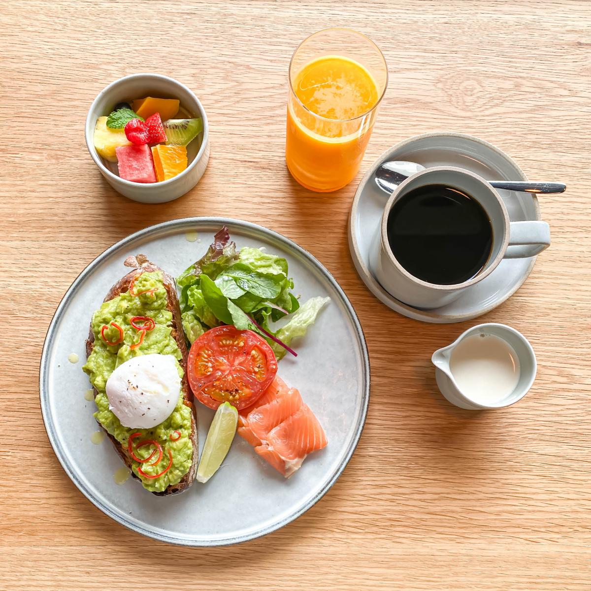 魅惑の朝食!