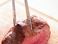 熟成肉の塊を目の前で焼くという幸せ|格之進R