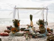 モロッコをテーマに海辺でパーティ!