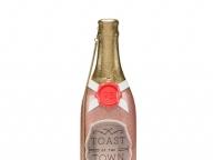 パーティーの必需品、シャンパンボトルがバッグに!